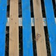 Paint smudged wood planks — Stock Photo