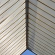 Plastic roofing and blue sky — Foto de Stock
