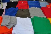 Short sleeve t-shirts — Stock Photo
