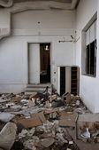 Vandalized room — Stock Photo