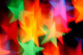 Falling stars abstract blur — Stock Photo