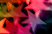 Star shape abstract background — Stock Photo