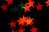 Stars pattern abstract blur — Stock Photo