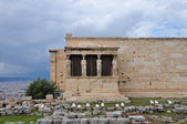 Erechtheion caryatids — Stock Photo