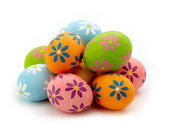 Colorful Easter eggs — Stockfoto