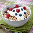 Healthy muesli — Stock Photo