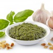 Pesto sauce — Stock Photo