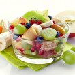 Fresh healthy fruit salad — Stock Photo #33406337