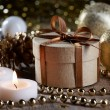 Christmas decorations and gift — Stock Photo #36632405