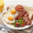English breakfast — Stock Photo #38360087
