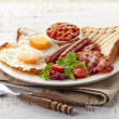 English breakfast — Stock Photo #38360091