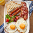 English breakfast — Stock Photo #38360093
