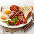 English breakfast — Stock Photo #38360095