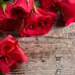 Gift box and roses — Stock Photo #38911265