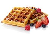 Belgium waffles — Stock Photo