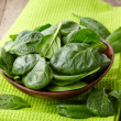 Fresh spinach leaves — Stock Photo #41741493