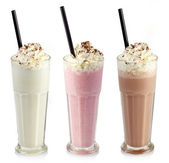 Milkshakes — Stock Photo