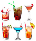 Set of cocktails — Stock Photo