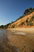 Mandraki Beach — Stock fotografie
