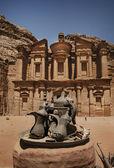 Ad Deir, Petra — Stockfoto