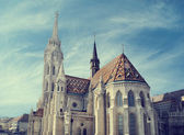 Matthias church, Budapest — Stock Photo