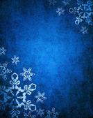 Natal fundo azulfumar peixe caseiro — Fotografia Stock