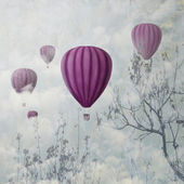 Pink Balloons — Stock Photo