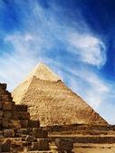 Pyramides d'Egypte — Photo