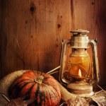 Halloween Compositin — Stock Photo