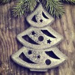 Foto Stock: Christmas ornaments