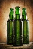Garrafas de cerveja — Fotografia Stock