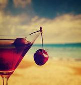 Cherry Cocktail — Stock Photo