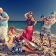 On the beach — Stock Photo #12085955