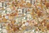 Pot of money — Stock Photo