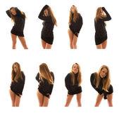 八个女孩照片 — 图库照片