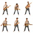 Stockfoto: Guitarist in shirt