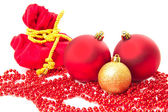 Conos de navidad bolas del abeto — Foto de Stock