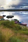 西伯利亚的性质 — 图库照片