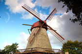 Mill on the island of Saaremaa — Stock Photo