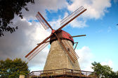 Mill on the island of Saaremaa — Stok fotoğraf