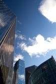 Mirrored skyscraper — Stock Photo