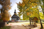 Old orthodox church in the center of Europe — Stock Photo