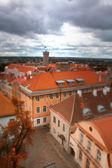 Tallinn autumn tilt-shift — Stock Photo
