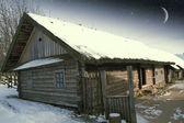 Villaggio autentico del xviii secolo in russia. elementi di questa immagine — Foto Stock