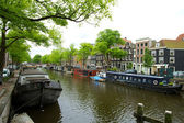 Amsterdam in summer — Stock Photo