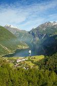 Fiordes noruegueses do norte. — Foto Stock