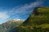Mountains in summer.  — Stock Photo