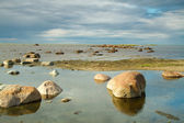 Rocks into the sea — Stock Photo