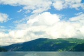 Northern Norwegian fjords.  — Stok fotoğraf