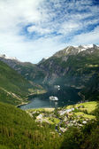 Northern Norwegian fjords.  — Stock Photo
